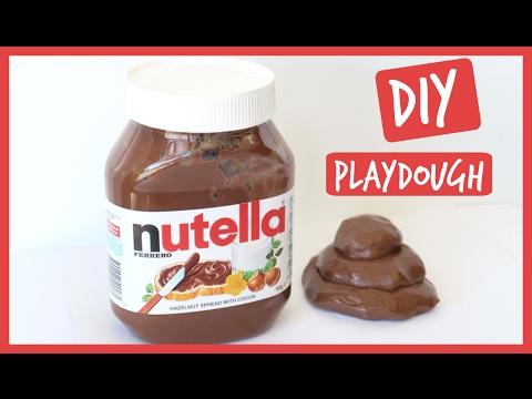 DIY Edible Nutella Play Dough! How to make nutella playdough in 5 MINUTES | Ali Coultas