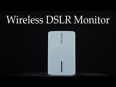 Dirt cheap wireless DSLR camera monitor with the TP-Link TL MR3040 - DSLR FILM NOOB