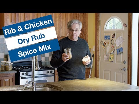 Rib and Chicken Grilling Rub Recipe || Le Gourmet TV Recipes