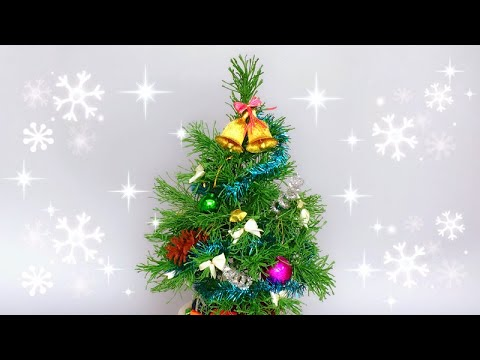 ABC TV | How To Make Christmas Tree Decoration From Crepe Paper #2 - Craft Tutorial