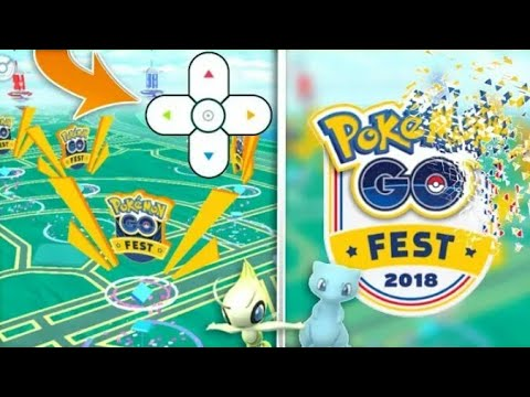 CAN YOU SPOOF TO POKEMON GO FEST 2018  (yes!)