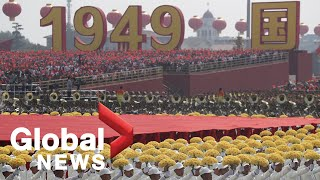 China 70th anniversary parade and celebrations   FULL