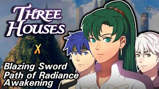 Three Houses X FE: Lyn, Ike and Robin in the Officer's Academy. What if?