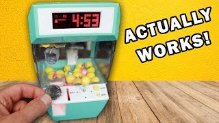 Claw Machine Alarm Clock: GREATEST TOY EVER! Unboxing Toy Review!