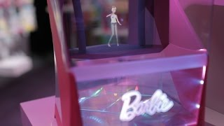 Barbie becomes a hologram version of herself