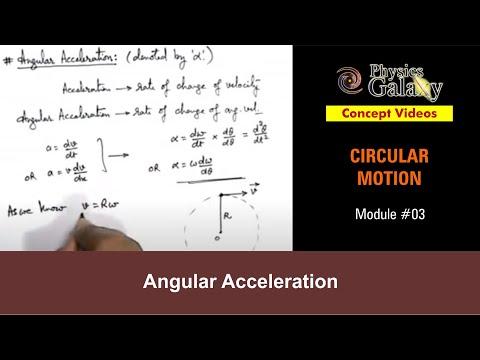 3. Physics | Circular Motion | Angular Acceleration | by Ashish Arora