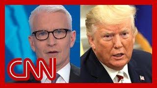 Trump's head-spinning flip stuns Anderson Cooper
