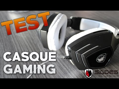 CASQUE GAMING 7.1 - 32€ - PC & CONSOLE - SADES A60