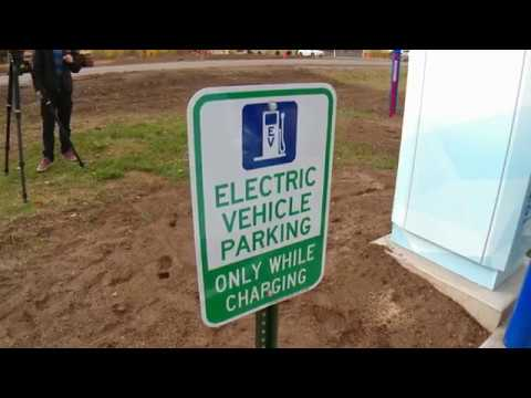 EV charging station opens in Sturgeon Lake