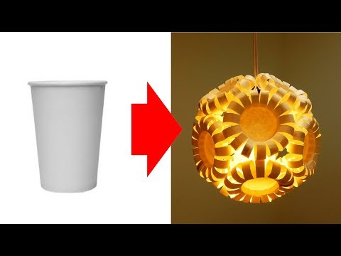 6 incredible DIY lamps you can make by recycling (compilation) - EzyCraft
