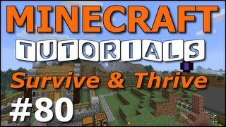 Minecraft Tutorials E80 Horse Taming And Riding Survive And Thrive Se