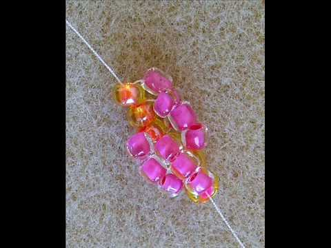Seed Bead Spiral Stitch