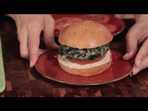Best Spinach Burger Recipe | Best Vegetable Recipes | Cooking from the Heart 201C