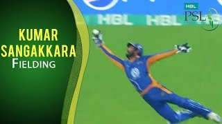 PSL 2017 Playoff 2: Karachi Kings vs. Islamabad United - Dwayne Smith caught by Kumar Sangakkara