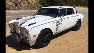 """Turbocharged, Manual 1978 """"Trolls Royce"""" Silver Shadow II - One Take"""