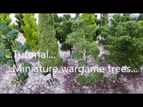 Tutorial; miniature wargame trees