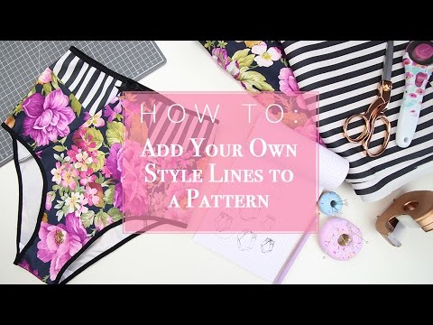 How To: Create Your Own Style Lines On A Basic Pattern
