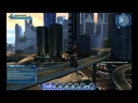 DC Universe Online Free Roam in Metropolis