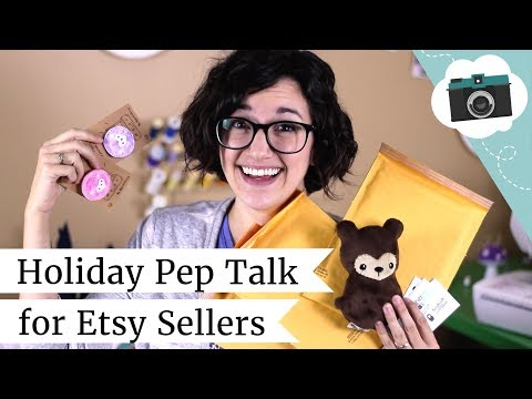 Holiday Pep Talk for Etsy Sellers + Tips for Surviving Shopping Season as a Maker   @laurenfairwx