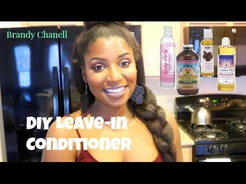 Natural Hair| DIY Leave-in Conditioner (Kimmaytube inspired)