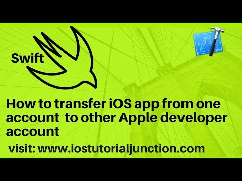 How to transfer ios app from one apple developer account to other