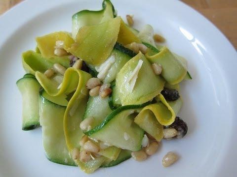 Summer squash pasta salad