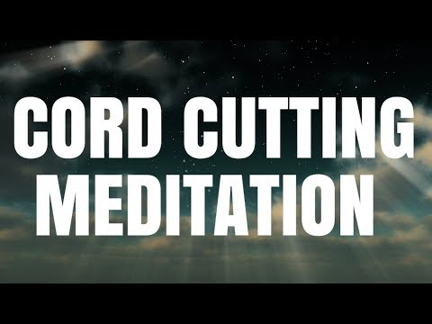 (VOICE) CORD CUTTING GUIDED MEDITATION To help you let go, heal& sleep