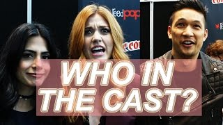 GET TO KNOW THE SHADOWHUNTERS CAST