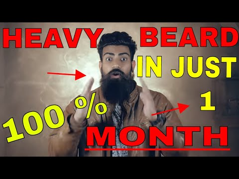 how to grow heavy beard in one month and fill your patches!! grow a heavy beard today