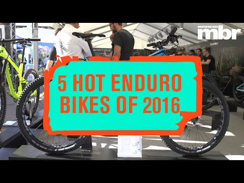 The five hottest enduro mountain bikes of 2016 | MBR