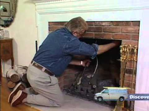 Fireplace Plug Seals the Chimney and Stops Drafts