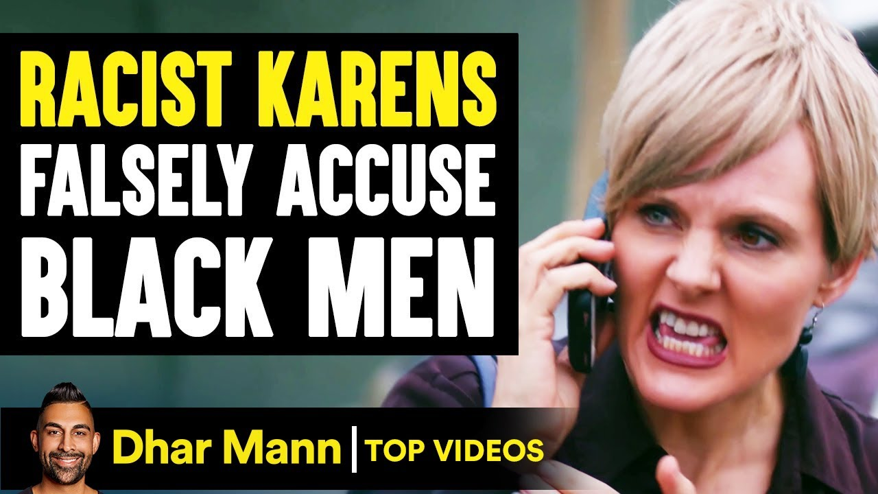 RACIST KARENS Falsely Accuse BLACK MEN, They Instantly Regret It   Dhar Mann