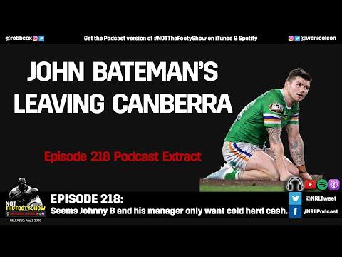 Why John Bateman's leaving Canberra... $$$$$$$