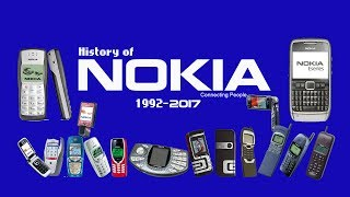 HISTORY OF NOKIA PHONES | 1992 to 2017