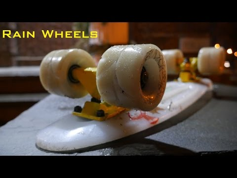 DIY Rain Wheels [For Longboards and Penny Boards]