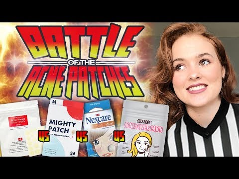 The Pimple Patch Battle (What's the BEST Brand?)