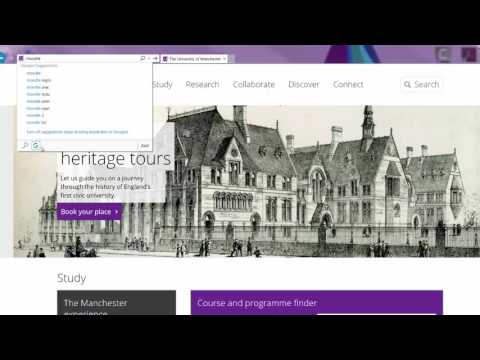 #277 Change your default search on IE from Bing to Google