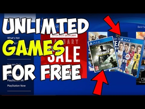 HOW TO GET PS4 GAMES FOR FREE (LEGAL) 2017-2018 *WORKING* 2017