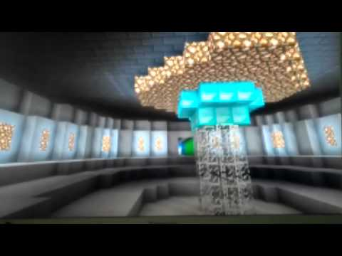 My minecraft tardis (bigger on the inside) tor of