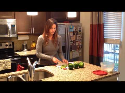 How to Cut Bell Peppers Quickly