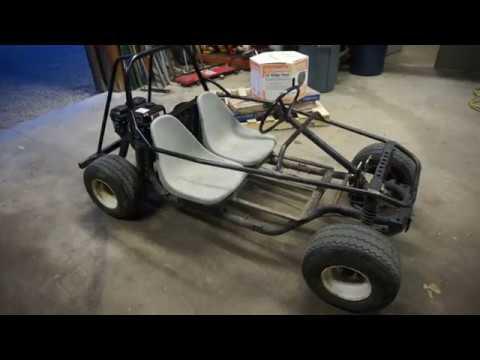 Homemade Go Cart! (recycled Golf-Cart)