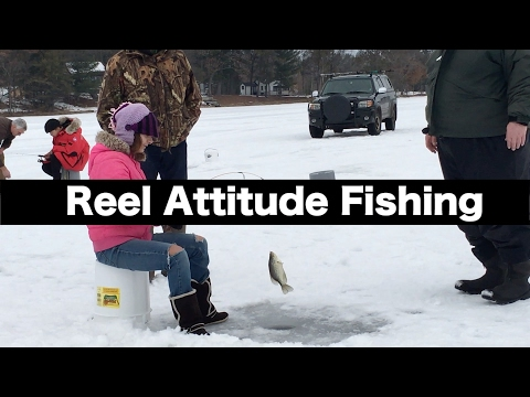 Learning How To Ice Fish In Northern Wisconsin