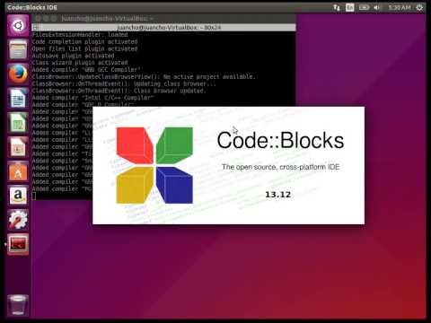 Installing CodeBlocks IDE in Linux Ubuntu