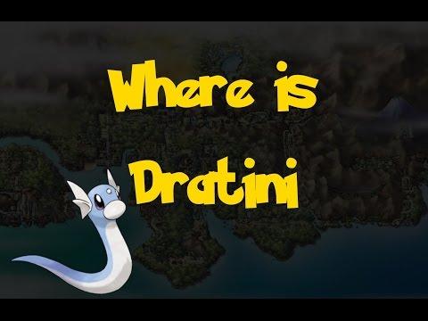 Where Is: Dratini (Gift Pokemon) (Pokemon Heart Gold/Soul Silver)