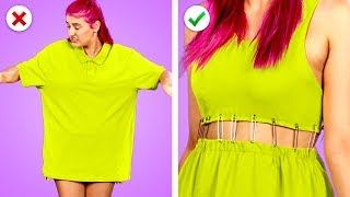 Transform It! 11 Smart DIY Clothing And Fashion Hack Ideas