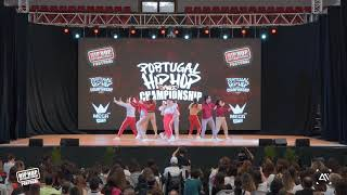 Groove Monterz Dance Company // Adult Silver Medalists @ Portugal Hip Hop Dance Championship 2019