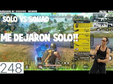¿VICTORIA? SOLO VS SQUAD!!! EL SILENCIADOR CHETADO / RULES OF SURVIVAL PC