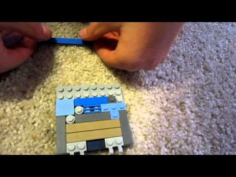 How To Build a LEGO Game Boy Advance SP... 13NinjaStriker style!