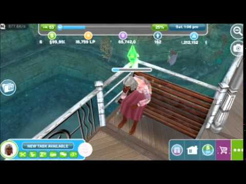 Old Age Death | The Sims FreePLAY™
