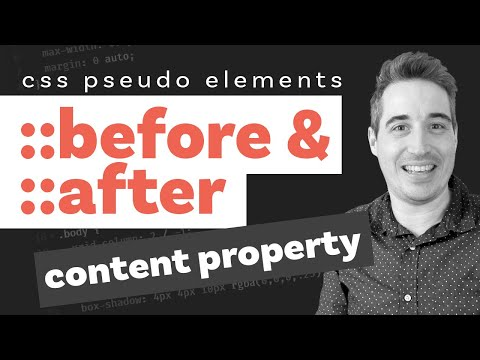 CSS Before and After pseudo elements explained - part two: the content property